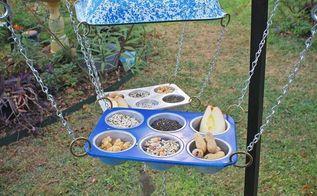 repurposed upcycled hillbilly bird feeders, repurposing upcycling, Repurposed Hillbilly Bird Feeders by GadgetSponge com