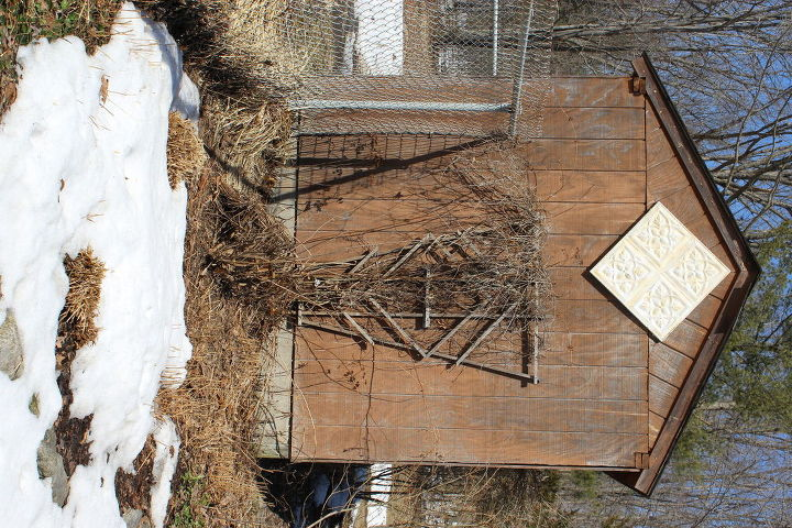 junkin up our pool playhouse outbuildings with resale shop find, diy, outdoor living, woodworking projects