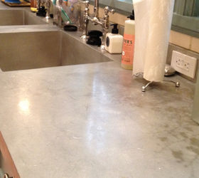 The High Cost Of Pewter, Pewter Countertop