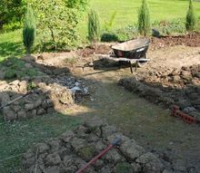 beginning the knot garden, gardening, landscape