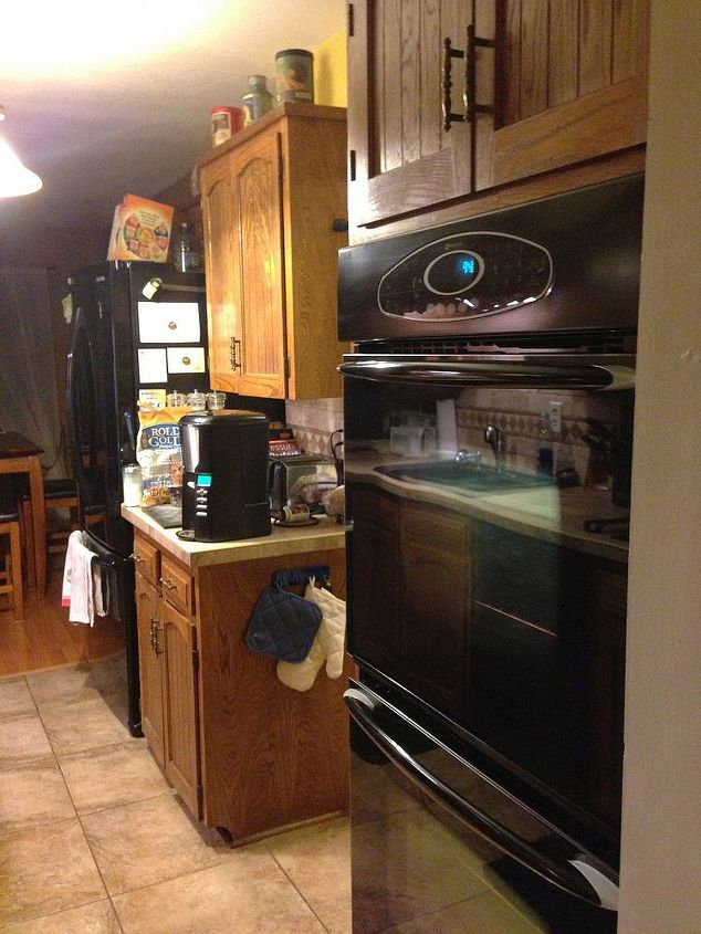 q kitchen before and after and new project advice cabinets, home decor, kitchen backsplash, kitchen design, After
