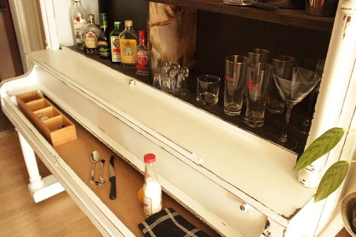 As a bar - it makes a fab little serving area