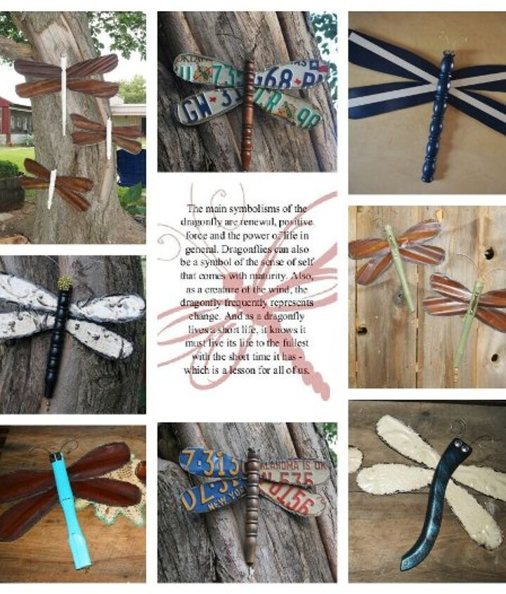 The main symbols of the dragonfly are renewal, positive force and the power of life in general.