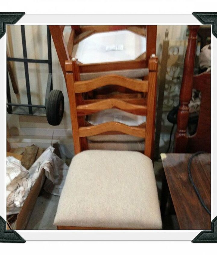 Old Chairs I bought (6) for $40