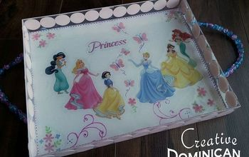 Tea Time! DIY Princess Tea Tray.