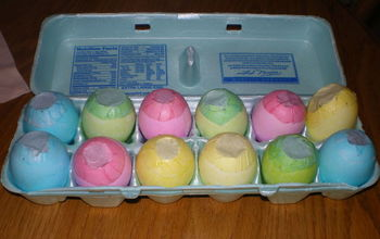Confetti Filled (Real) Easter Eggs