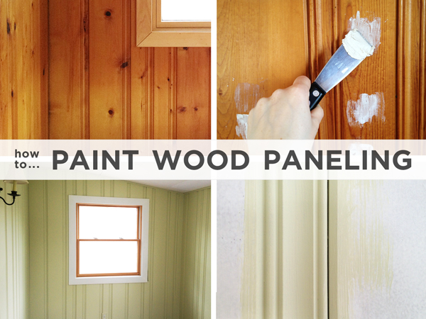 How To Paint Wood Paneling Diy Colors Painting