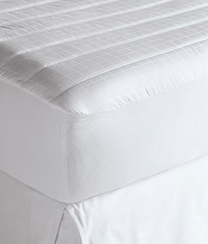 1. This is the foundation of the bed and the first layer of comfort.  Having a good mattress cover will ensure that your mattress is protected...and your investment as well.  3 Essential Tips: http://bit.ly/TwFt2H