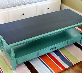Old Coffee Table Becomes Game Table With Scoreboard, Painted Furniture,  Repurposing Upcycling, I
