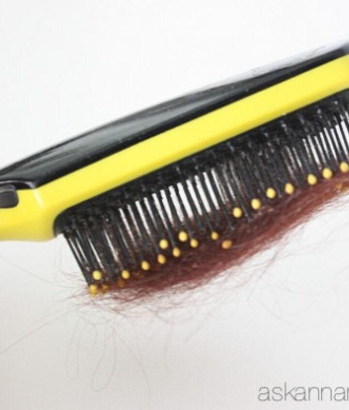 when is the last time you cleaned your hair brush, cleaning tips