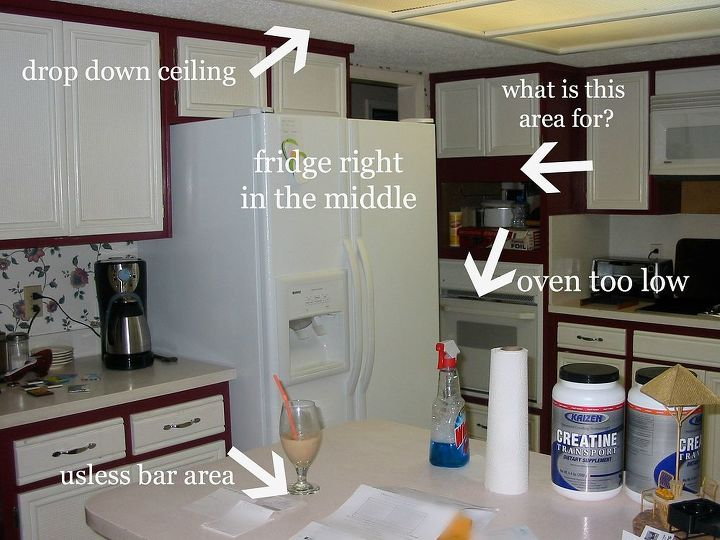 We had tons of problem areas we needed to fix! We wanted to create a work space we would want to cook in!