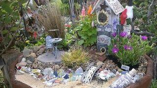 q fairy garden ideas, gardening