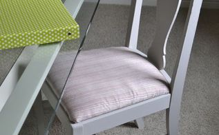 another diy makeover for the office chair, painted furniture