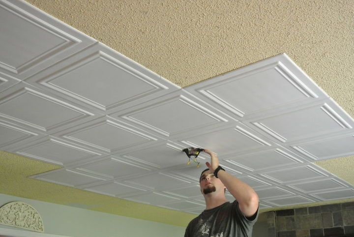 Relatively Budget Upgrade Good Bye Popcorn Ceiling Hometalk Df09