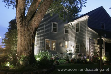 led landscape lighting rochester ny, landscape, outdoor living, Check out this Beautiful house after a Landscape Lighting Installation by Acorn Landscaping of Rochester NY 585 442 6373 This home was featured in The Rochester Magazine after Acorn Designed and Installed a Landscape Lighting System