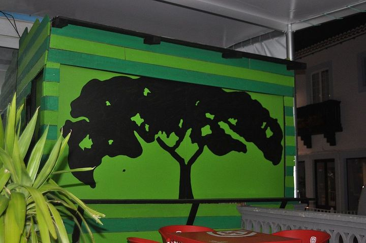 a big tree i also painted