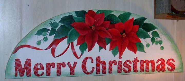 Merry Christmas Door Arch by GranArt