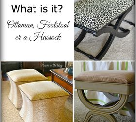 Charmant Have You Ever Wondered If It S An Ottoman Footstool Or A Hassock, Home Decor