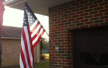 Old glory isn't going anywhere now!