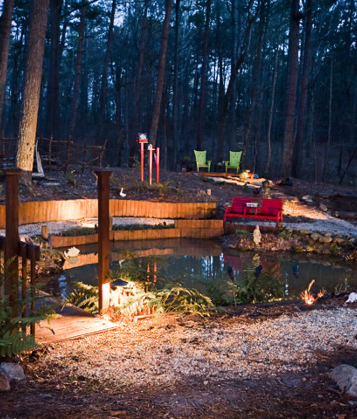 Beautiful Pond Area