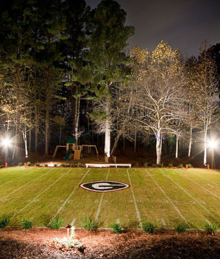 Front View of Custom Mini Field. This project took around 3 months and around 200 man hours to complete