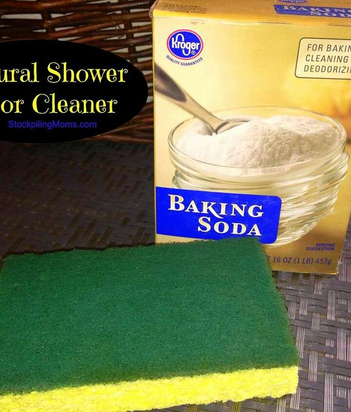 Natural Shower Door Cleaner - Non Toxic