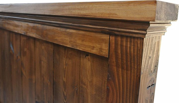 mason headboard, painted furniture, repurposing upcycling, rustic furniture