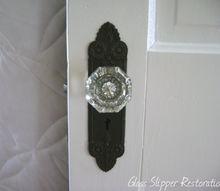 here s a chemical free way to restore your vintage door hardware, doors, Door hardware After