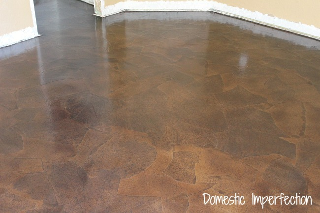 Brown paper bag flooring how to hometalk paper bag floors diy flooring how to i did the whole 10 solutioingenieria Images