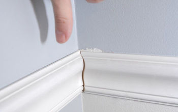common molding mistakes and how to fix them, home maintenance repairs, how to, tools, wall decor, Jamming a piece into a corner to make it fit will come back to bite you