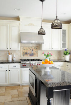 how to paint oak cabinets drab to fab powerofpaint, kitchen cabinets, painting, woodworking projects, Update your oak cabinets with PAINT
