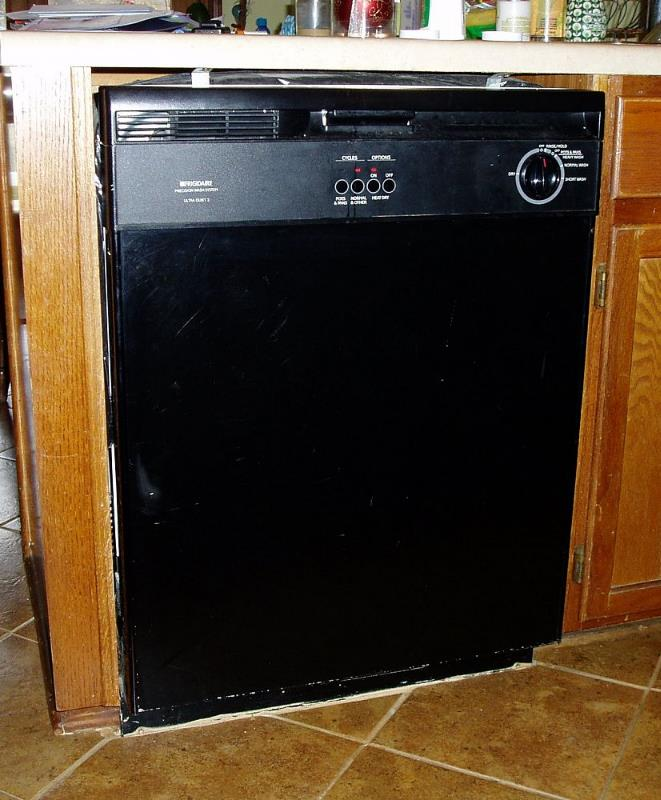 Updating A 15 Year Old Dishwasher W Stainless Steel Look
