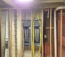 new service upgrade in atlanta, electrical, lighting, Electrical Upgrade a complete remodel with a new work area in the basement 2 200 Amp Square D Panels