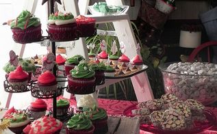 hometalk christmas party, crafts