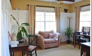 top 10 no sew window treatment ideas, home decor, windows, Long No Sew Curtains via Sand and Sisal
