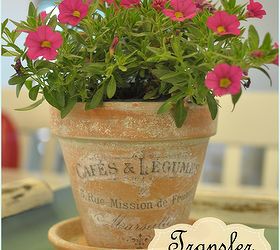 Hometalk & French Inspired Terra Cotta Flower Pots! | Hometalk