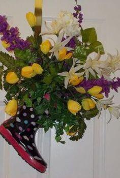 second april showers bring may flowers arrangements, home decor, April Showers