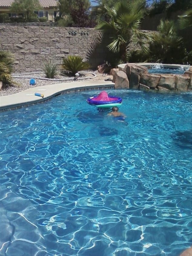i would love to put in a pool seeing a co workers pool gave some great ideas, outdoor living, pool designs