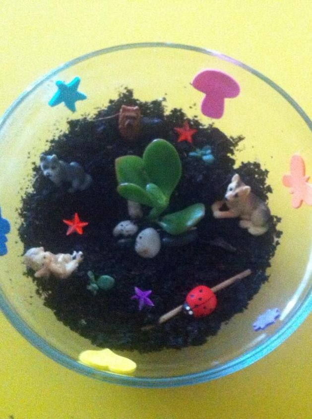 q feedback, crafts, gardening