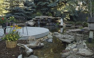 its not too late for a spring pond clean out, ponds water features, A crystal clear pond in Littleton Colorado