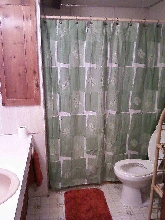 Before:  access door to water heater