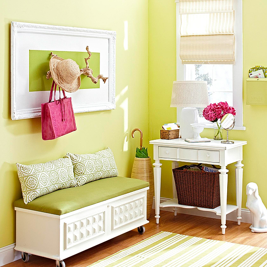 tired of your wood side tables add a piece of marble hide years of glass rings, home decor, painted furniture, Chest After