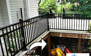 deck design tip, decks, outdoor living, The deck owner can use the waterproof space for storing their lawn supplies and more