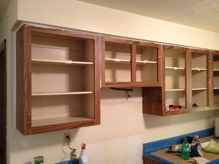 70s Style Laminate Cabinets-Oh Yah!!! Break out your Disco shoes.