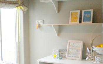 Tiny laundry room makeover and organization