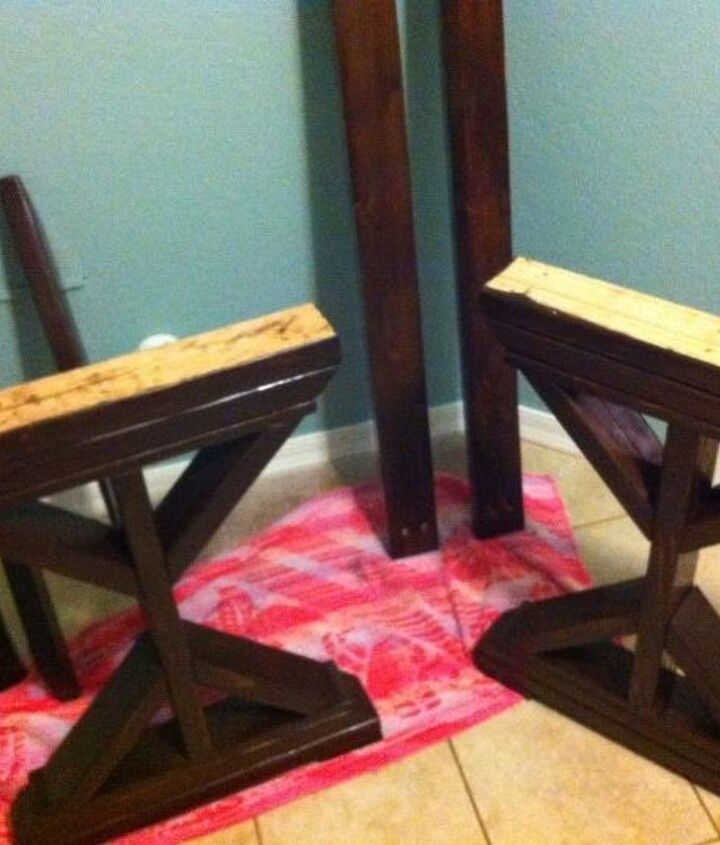 q wood stain need help please, diy, painted furniture, woodworking projects