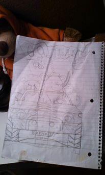Spiral notebook rough draft
