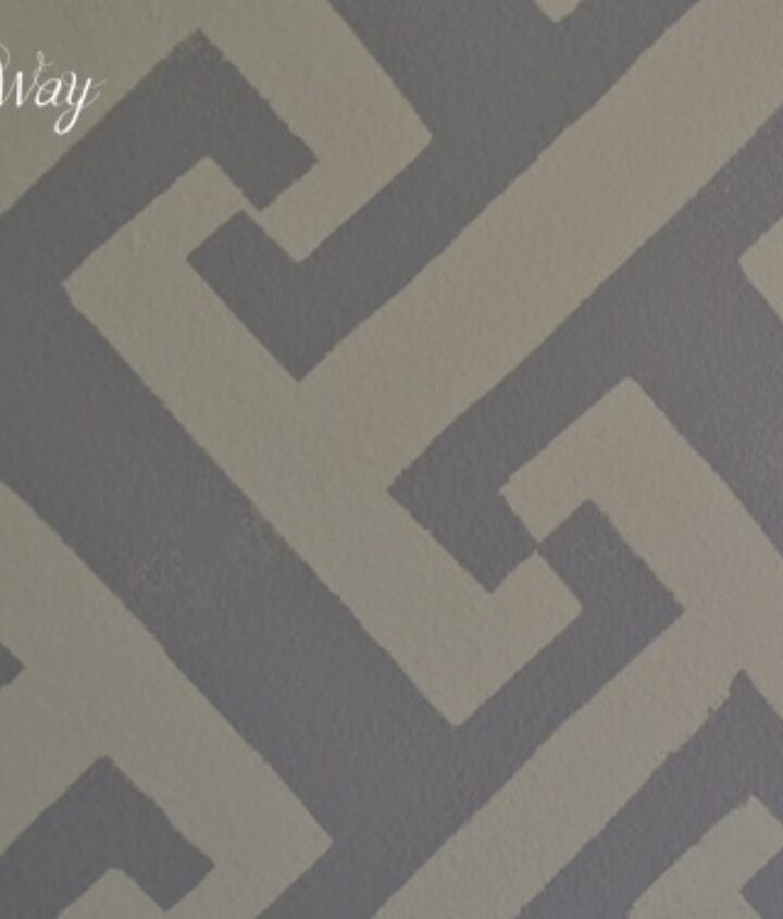 stenciling a feature wall, painting, wall decor