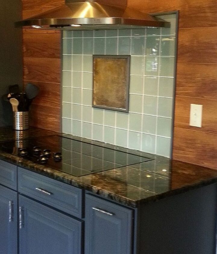 creativity in a backsplash all for 10, diy, how to, kitchen backsplash, kitchen design, kitchen island, paint colors, tile flooring, tiling, wall decor