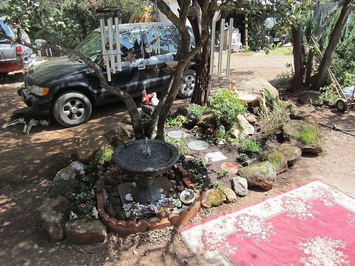 Almost done with the Island garden . . now the patio . .